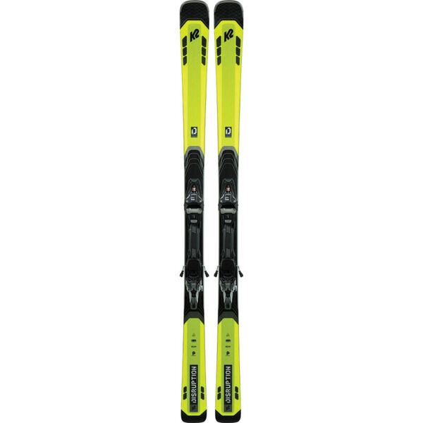 K2 Disruption 82 TI Skis with MXC12 Bindings Mens