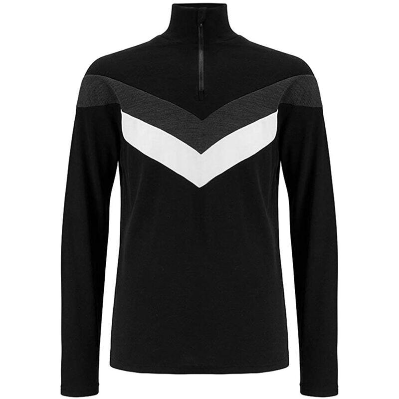 We Norwegians Voss Color Block Zip-Up Sweater Mens image number 0