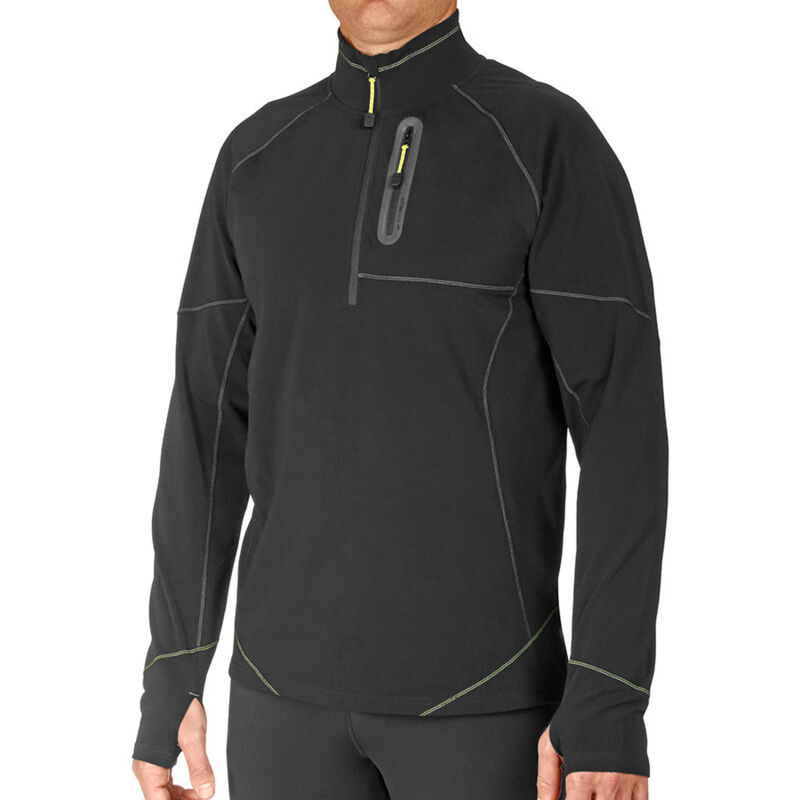 Hot Chillys Micro-Elite XT Zip-T - Mens image number 0