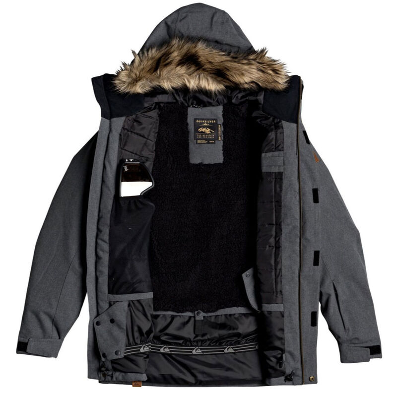 Quiksilver Selector Snow Jacket Mens image number 2