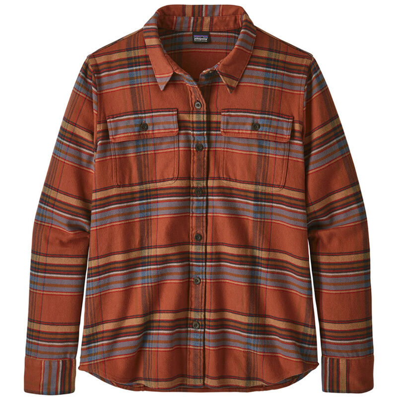 Patagonia Long-Sleeved Fjord Flannel Shirt - Womens image number 0