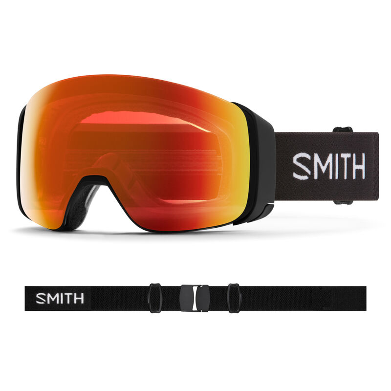 Smith 4D Mag Goggles + Everyday Red Mirror Lens image number 0