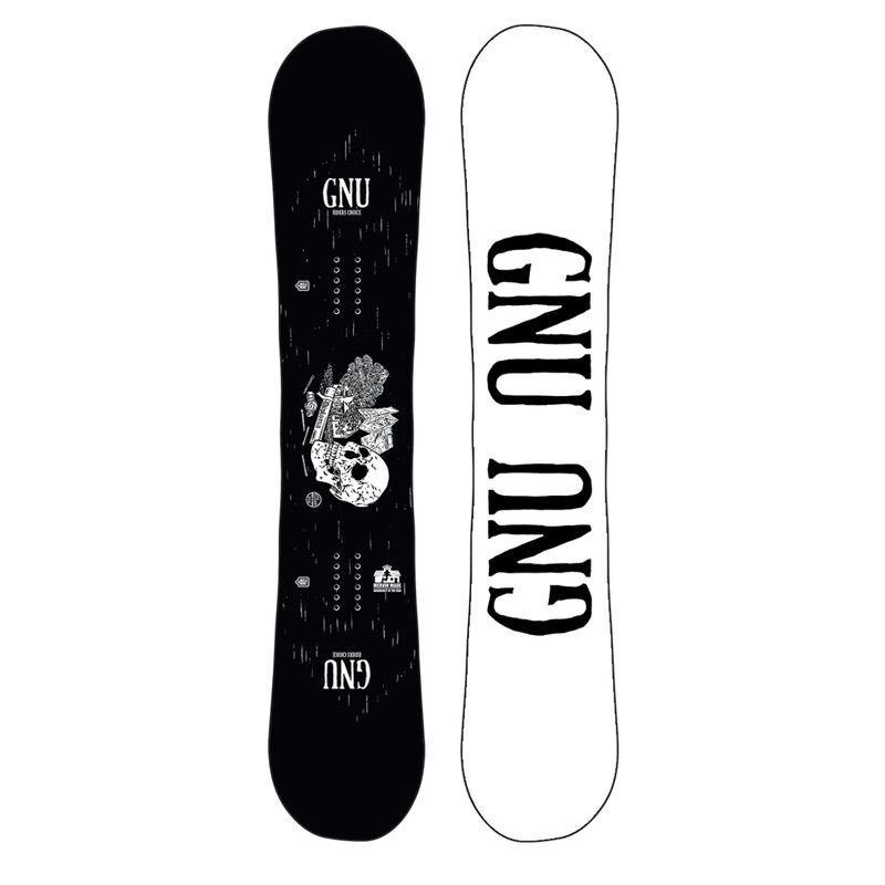 GNU Riders Choice Wide Snowboard Mens image number 3