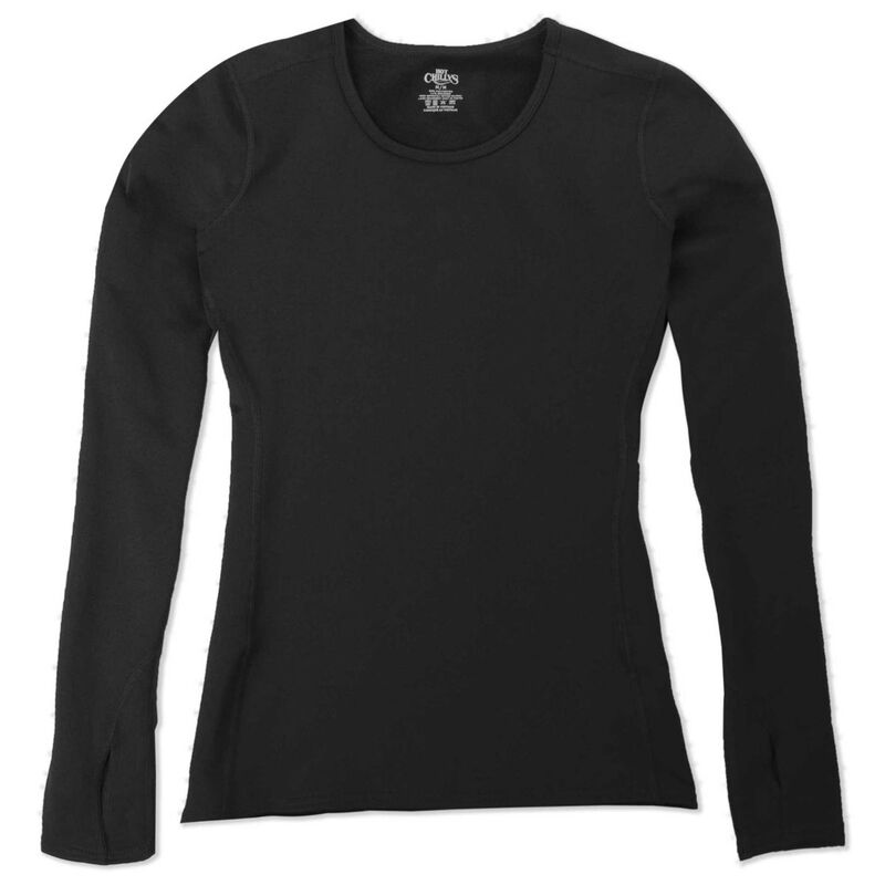 Hot Chillys Micro-Elite Chamois Crewneck Womens image number 2