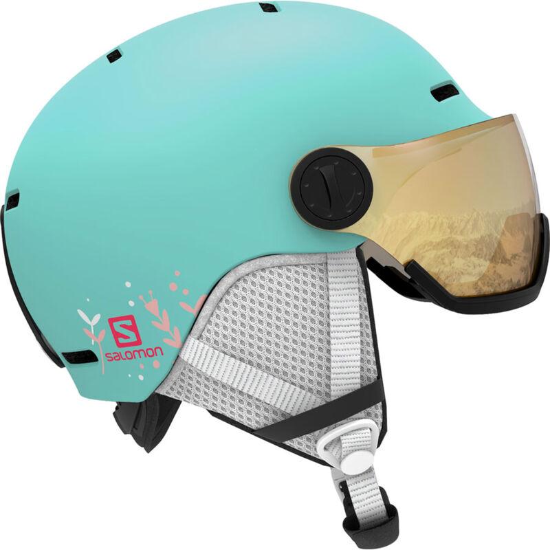 Salomon Grom Visor Helmet Kids image number 0