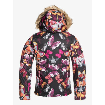 Roxy American Pie Print Jacket - Girls - 19/20