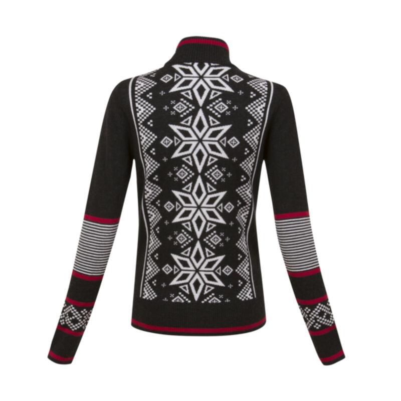Krimson Klover Mind Bender Zip Cardigan Sweater Womens image number 1