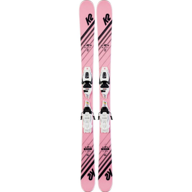 K2 Missy FDT 4.5 System Skis - Kids - 17/18 image number 0