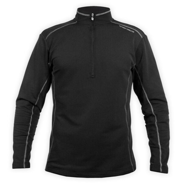 Hot Chilly's Micro-Elite Zip-T Mens