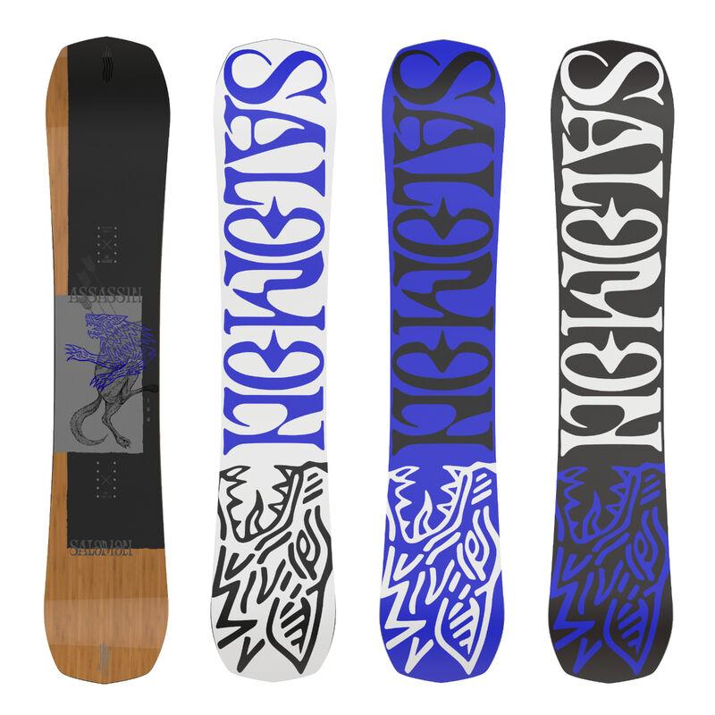 Salomon Assassin Wide Snowboard Mens image number 0