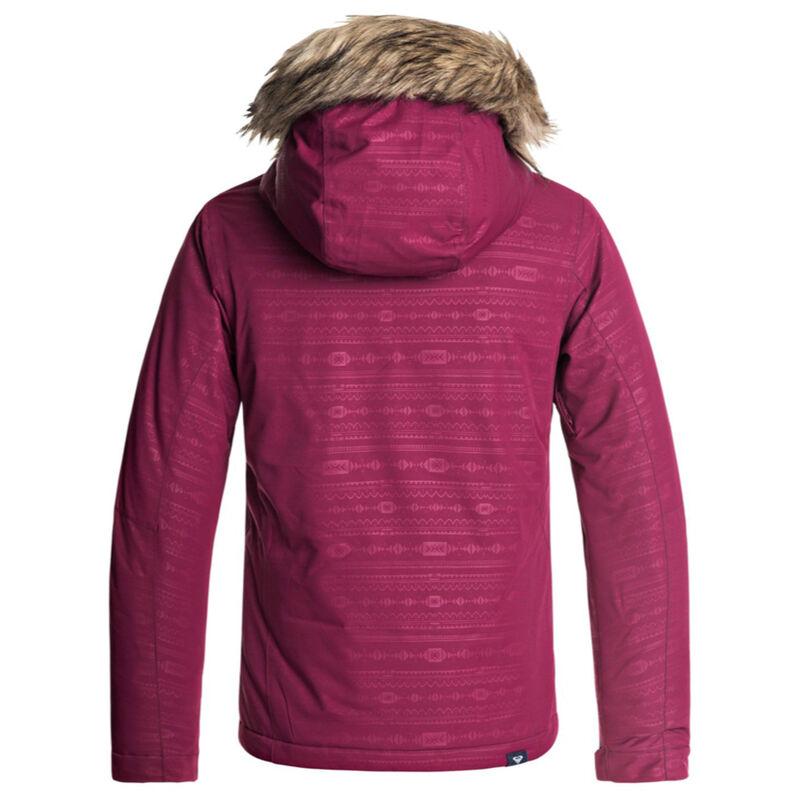 Roxy American Pie Embossed Jacket Girls image number 1