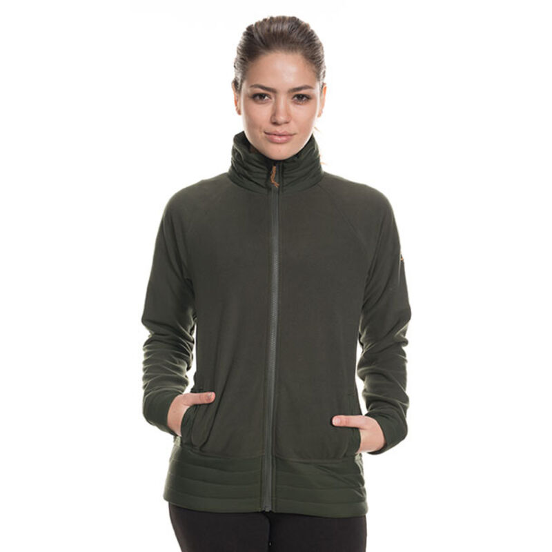 686 Quilted Fleece Jacket - Womens image number 2