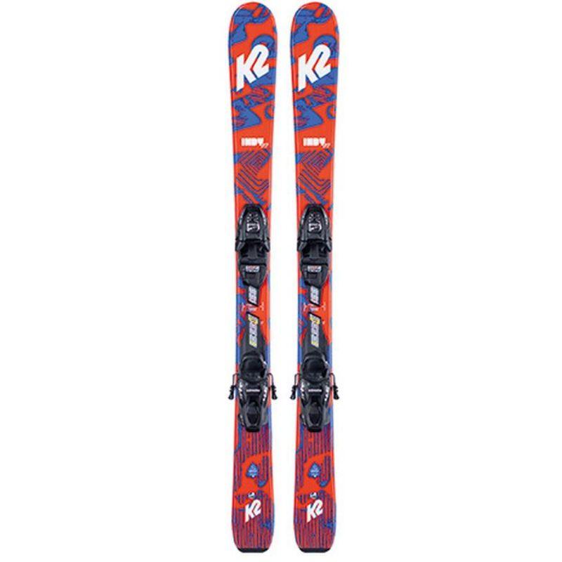 K2 Indy with 4.5 FDT Skis Junior Boys image number 0