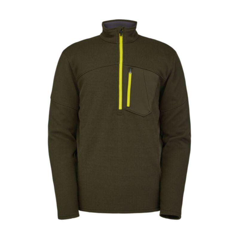 Spyder Bandit 1/2 Zip Fleece Jacket -  Mens image number 0
