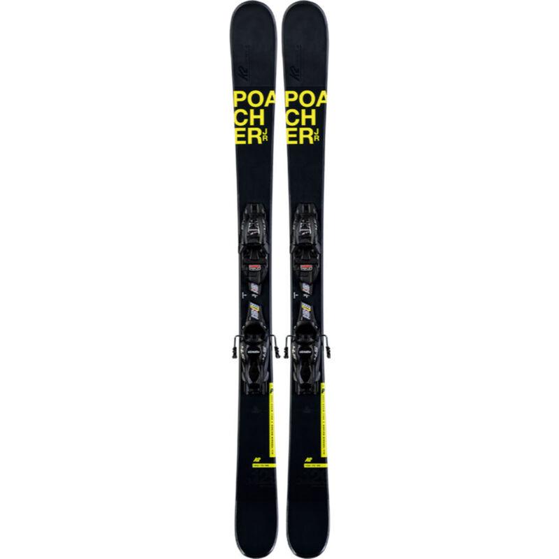 K2 Poacher FDT 7.0 System Skis Kids image number 0