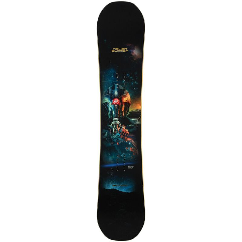 Never Summer Bantam Snowboard - Kids 19/20 image number 0