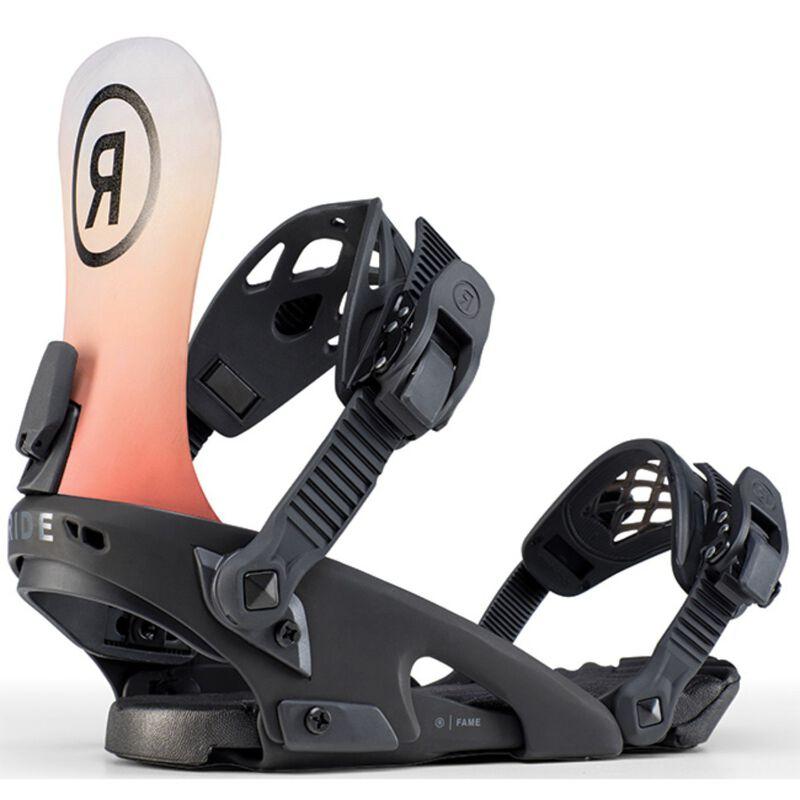 Ride Fame Snowboard Bindings Womens image number 0