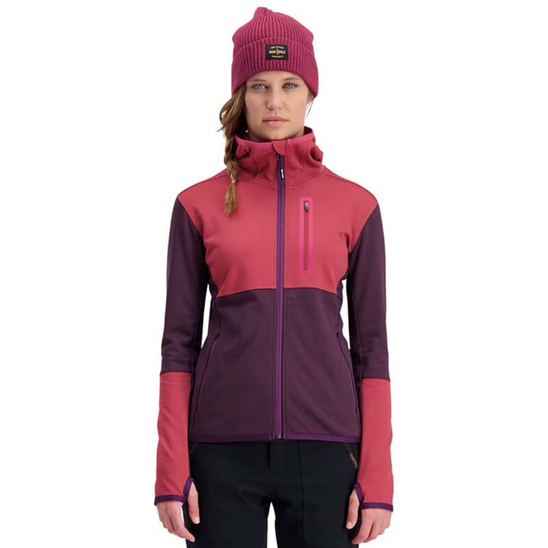 Mons Royale Approach Tech Mid Hoody - Womens image number 2