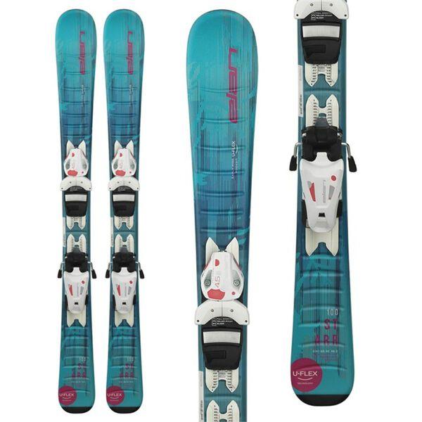 Elan Starr with 4.5 Quik Trick System Skis Girls