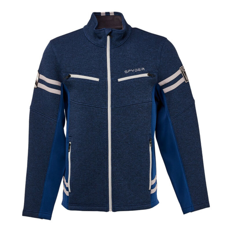 Spyder Wengen Encore Fleece Jacket Mens image number 0