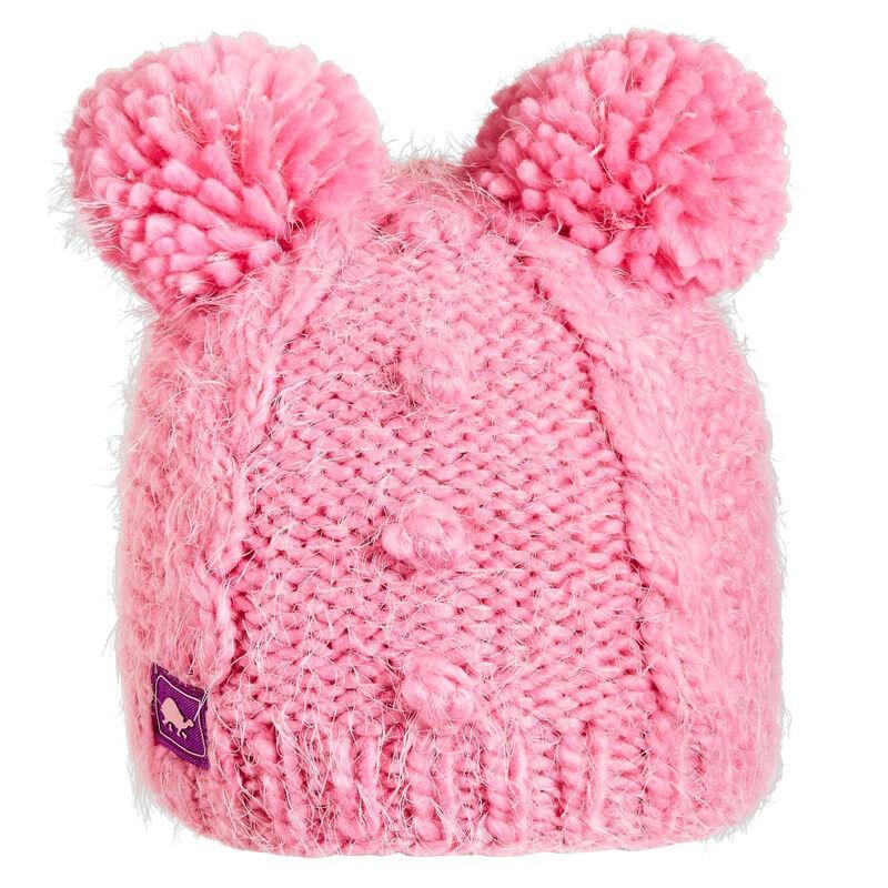 Turtle Fur Fluff Balls Hat Girls image number 0