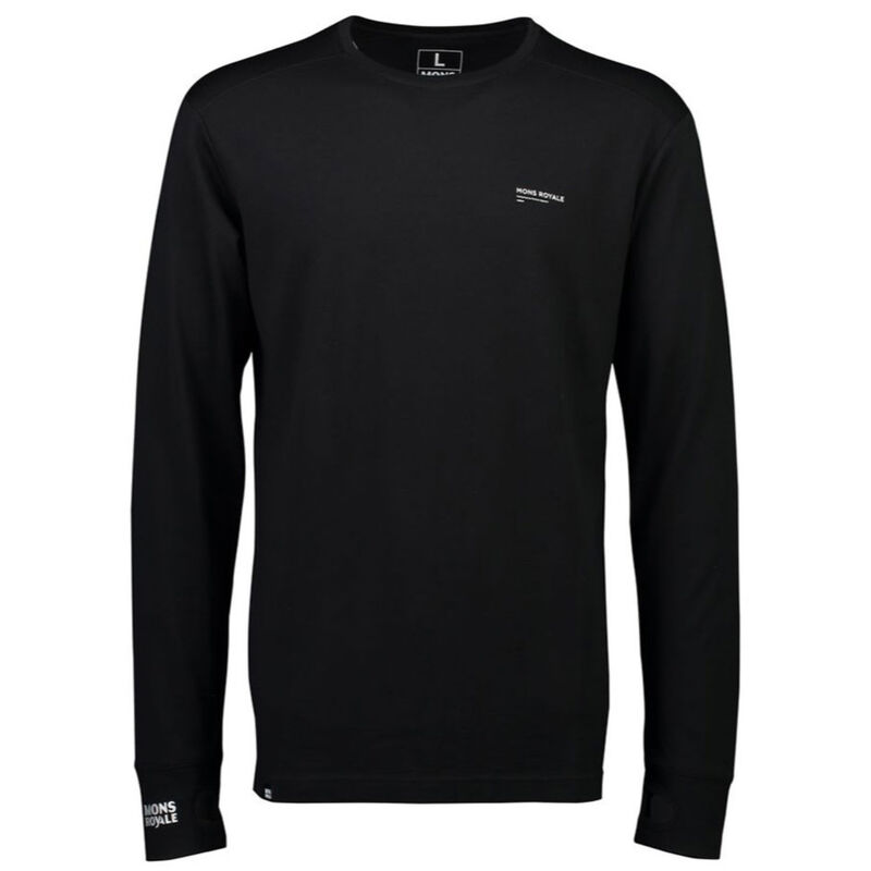 Mons Royale Alta Tech Long Sleeve Crew Mens image number 0