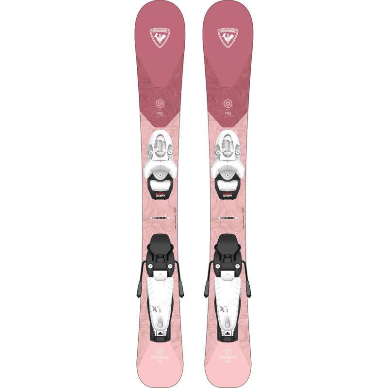 Rossignol Experience Pro Junior Skis + Team 4 GW Bindings Girls image number 0