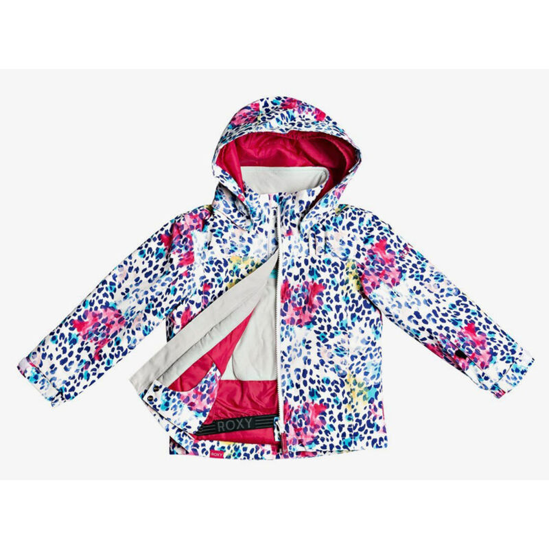 Roxy Mini Jetty Snow Jacket Girls image number 2