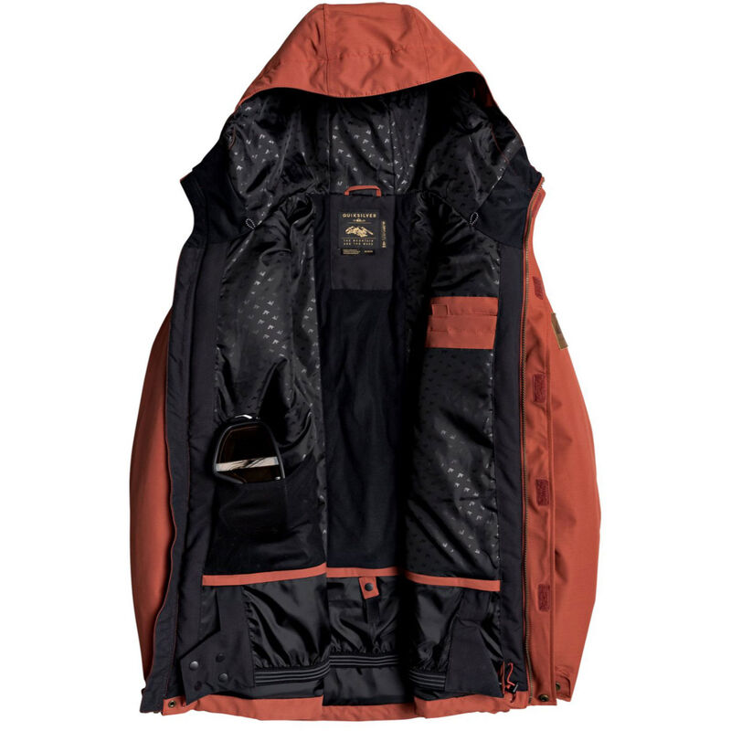 Quiksilver Raft Snow Jacket - Mens 19/20 image number 2