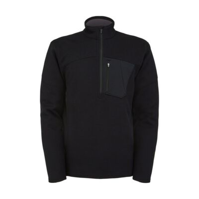 Spyder Bandit Half Zip Fleece Sweater - Mens 20/21