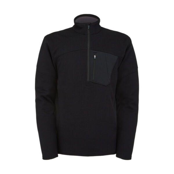 Spyder Bandit Half Zip Fleece Sweater Mens