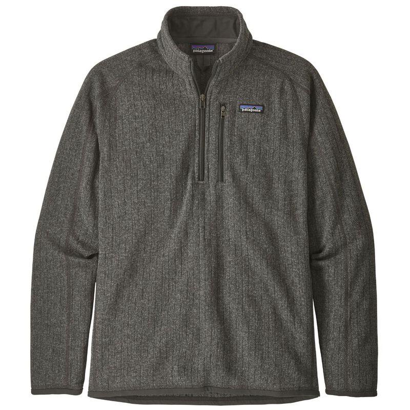 Patagonia Better Sweater Rib Knit 1/4-Zip Fleece Mens image number 0