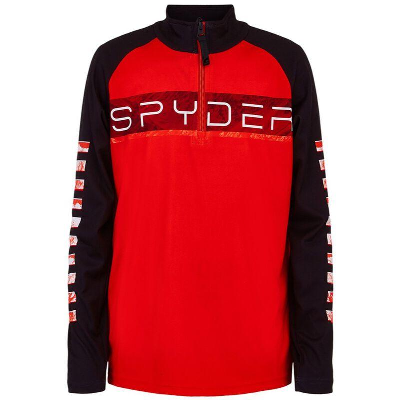 Spyder Peak Zip T-Neck Juniors image number 0