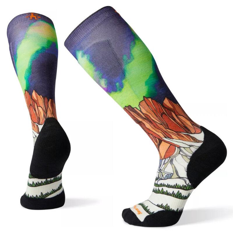 Smartwool PhD® Ski Light Elite Homechetler Print Socks image number 0