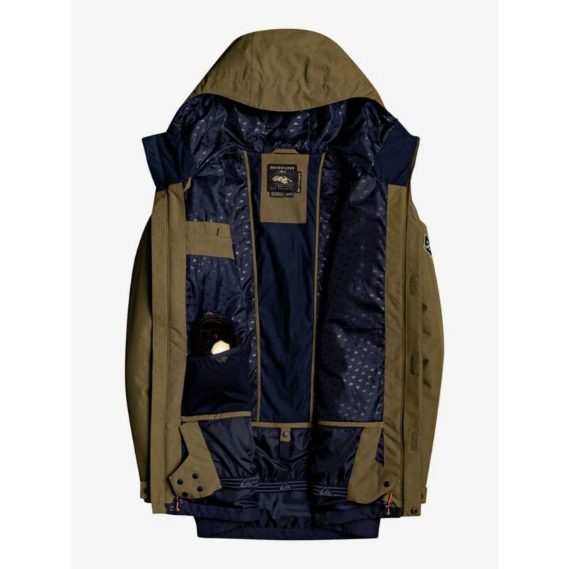 Quicksilver Horizon Snow Jacket Mens image number 2