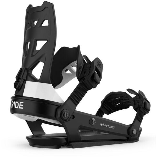 Ride A-8 Snowboard Bindings Mens
