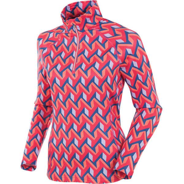 Sunice Ski Lodge II Stretch Knit Half-Zip Pullover Womens