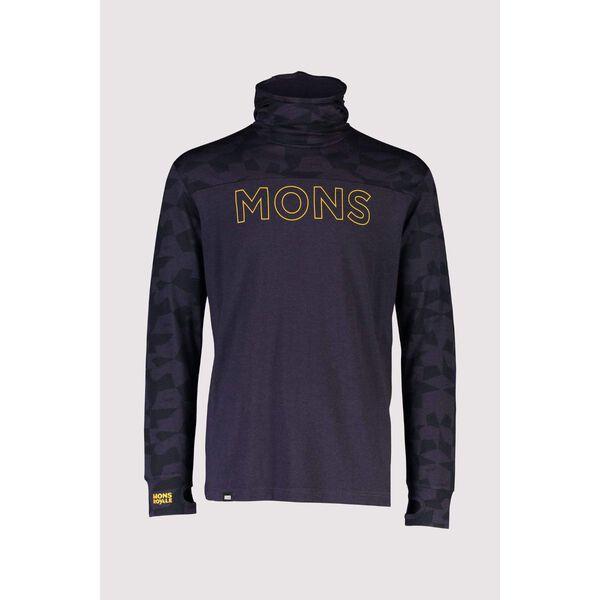 Mons Royale Yotei Powder Hood Long Sleeve Mens