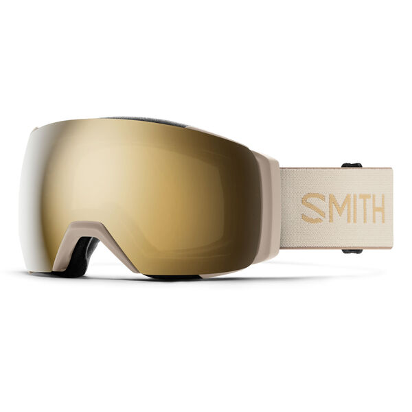 Smith I/O Mag XL Goggles + Sun Black Gold Mirror Lenses
