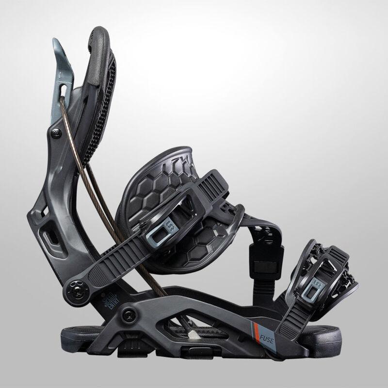 Flow Fuse Hybrid Snowboard Bindings Mens image number 1