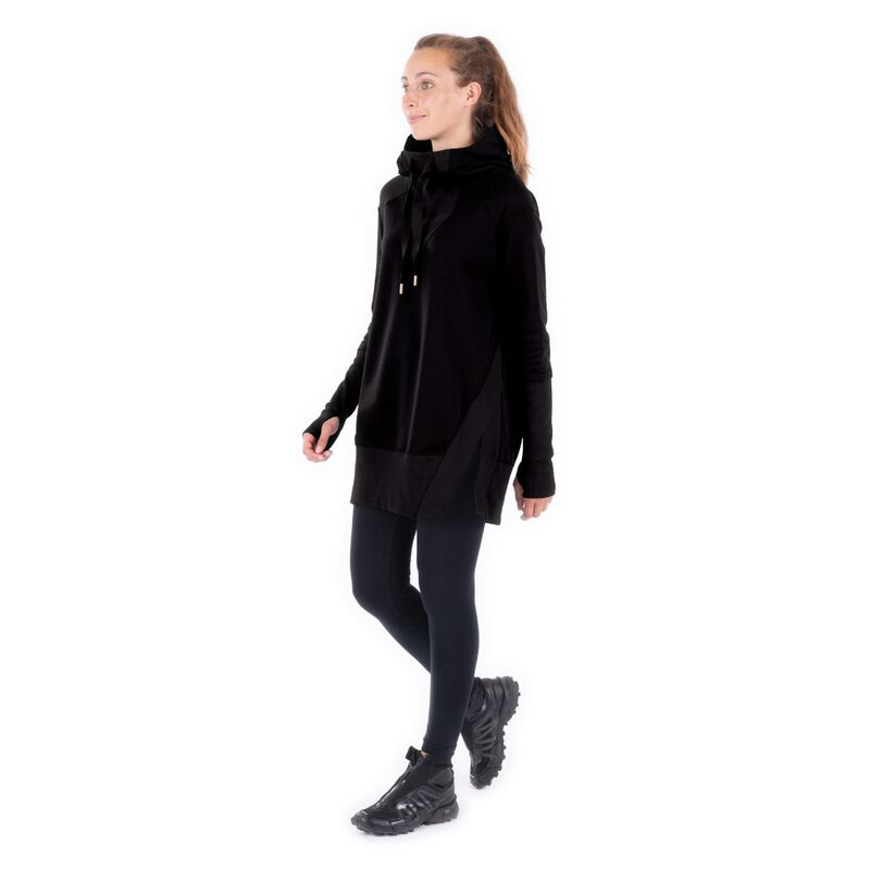 Indygena Timea French Terry Hoodie Dress Womens image number 1
