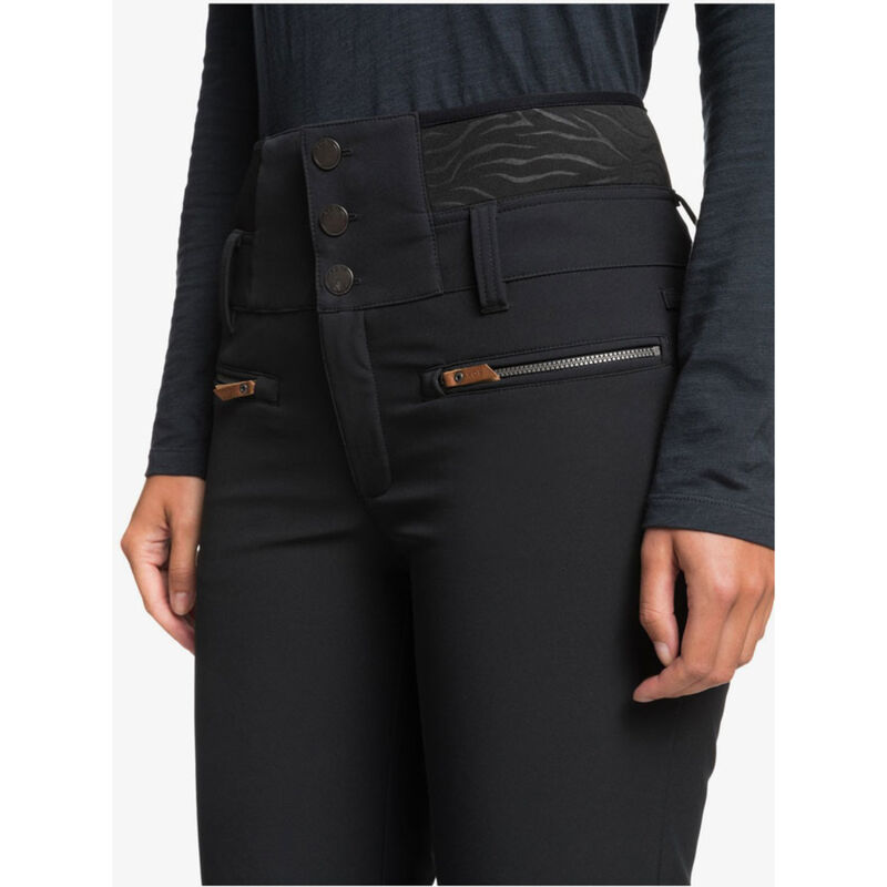 Roxy Rising High Short Shell Snow Pants Womens image number 2