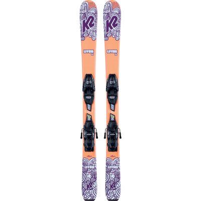 K2 Luv Bug Skis with 4.5 Bindings - Girls 21/22