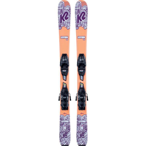 K2 Luv Bug Skis with 4.5 Bindings Girls