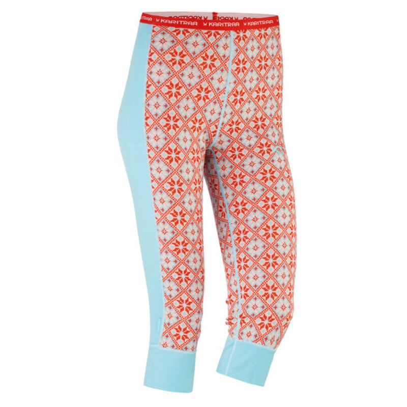 Rose Wool Capri – 100% Merino Wool Womens image number 0
