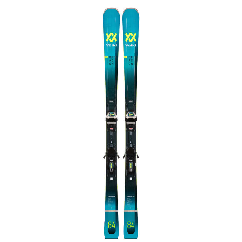 Volkl Deacon 84 Skis + Lowride XL 13.0 FR GW Bindings image number 0