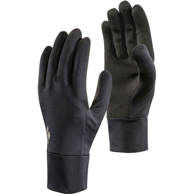 Black Diamond Lightweight Screentap Fleece Gloves Mens image number 0