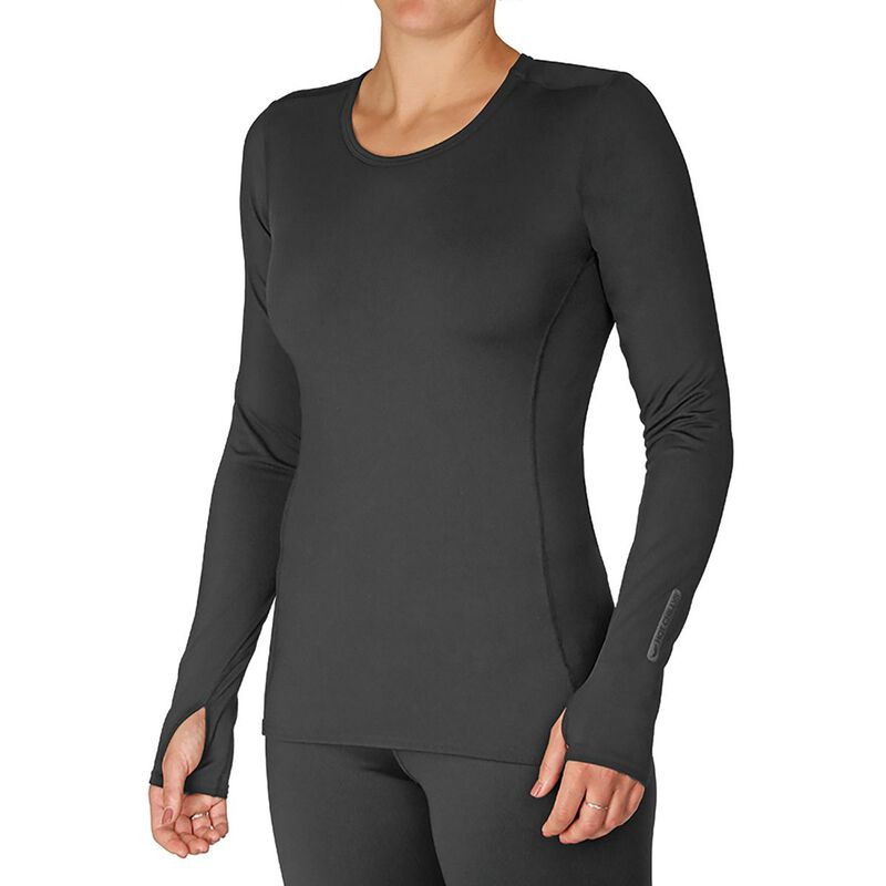 Hot Chillys Micro-Elite Chamois Crewneck Womens image number 0