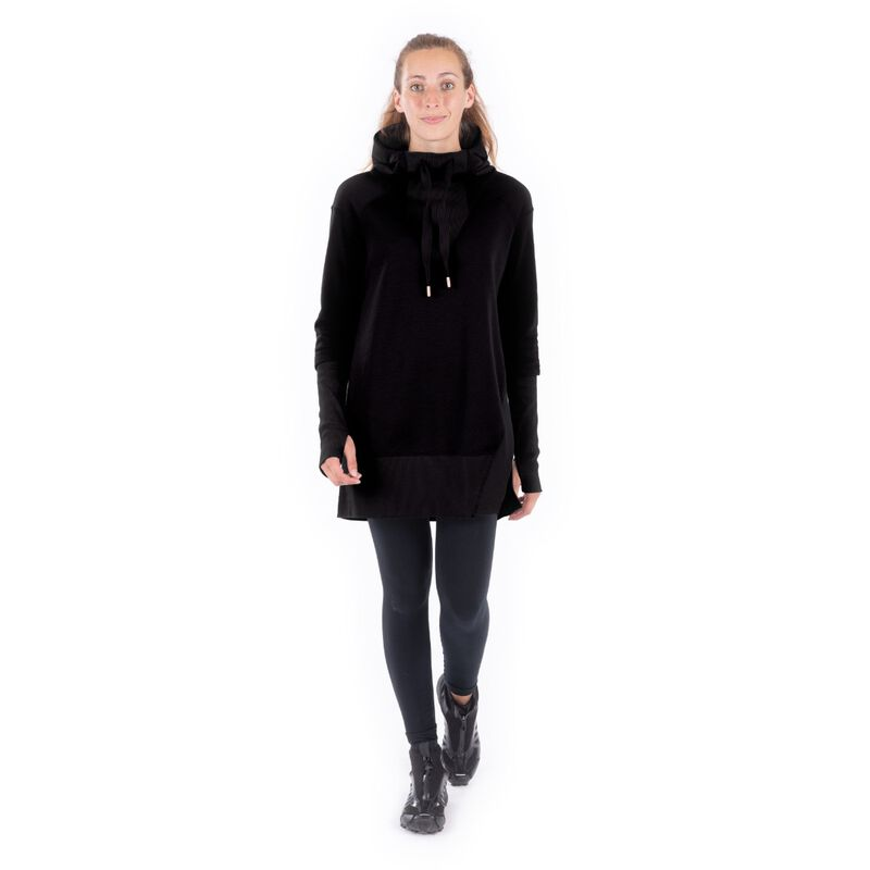 Indygena Timea French Terry Hoodie Dress Womens image number 0
