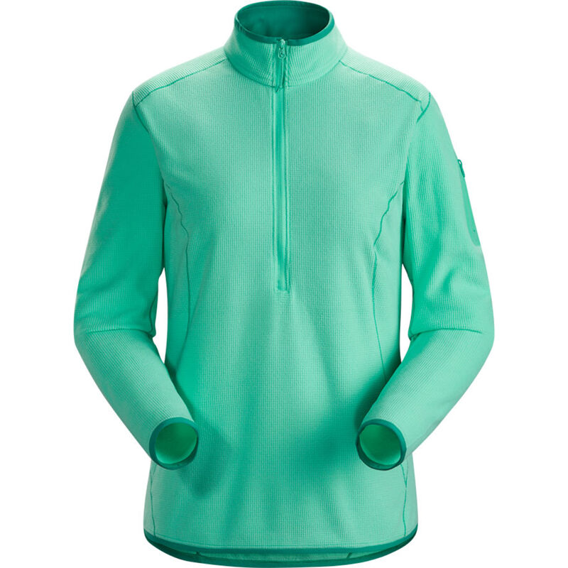 Arc'teryx Delta LT Zip Neck Hoody - Womens image number 0